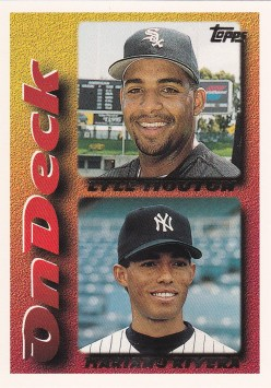 1995 Topps Traded Rivera Mouton OD